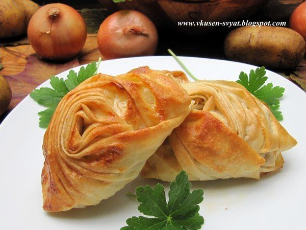 Delicious With Valya And Irina: Мида бюрек (мидие бьорек) / Seashell Borek (Midye Börek)