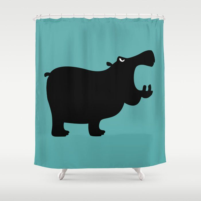 Pin Op Shower Curtains