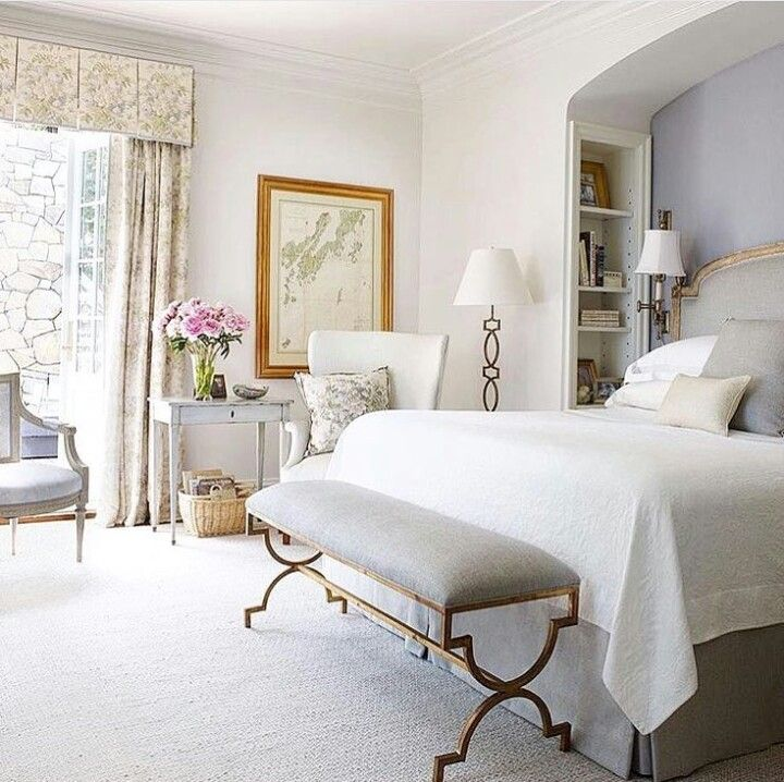 LOVE this gorgeous and simple bedroom