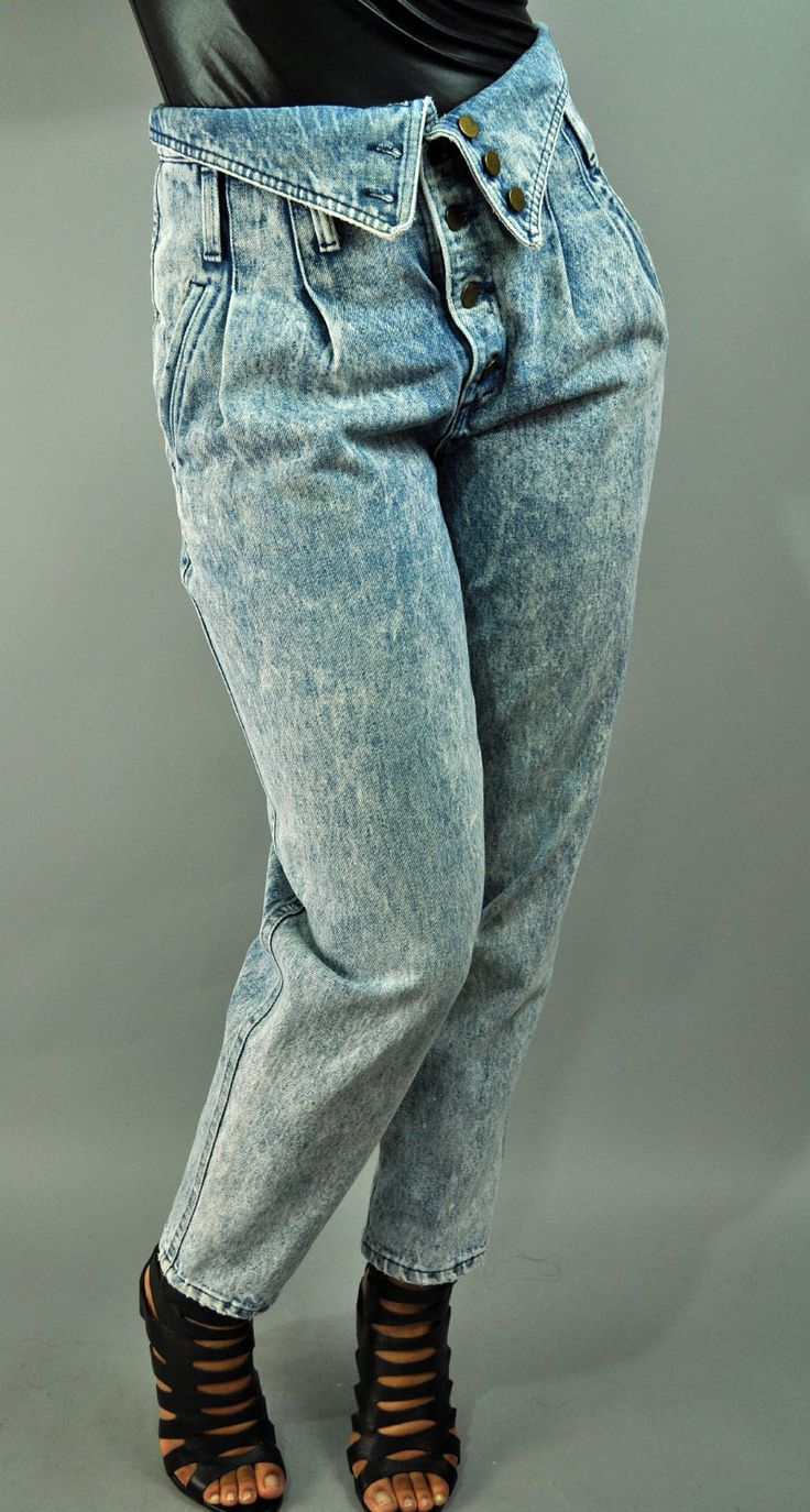 Fold over jeans - almost forgot about these