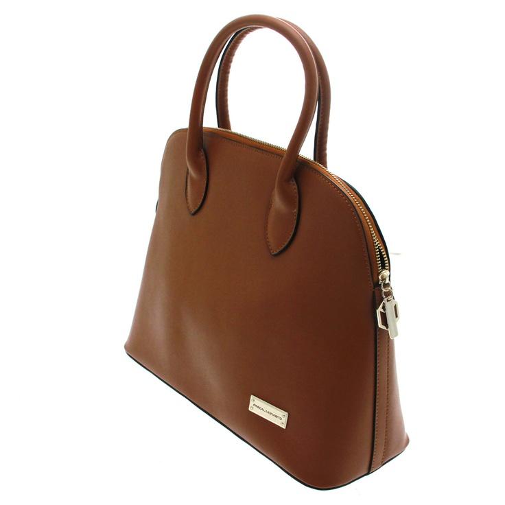7 - Pascal Morabito, sac en cuir camel Glenda 99€ #Bazarchic