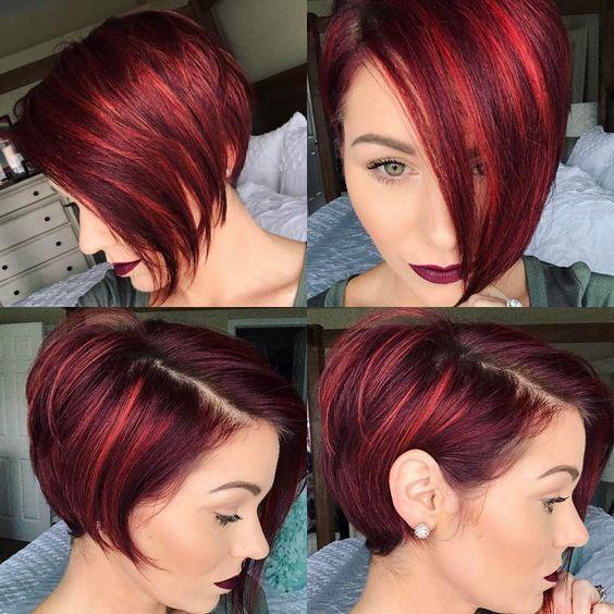 asymmetrische Pixie-Haarschnitte #asymmetrische #…