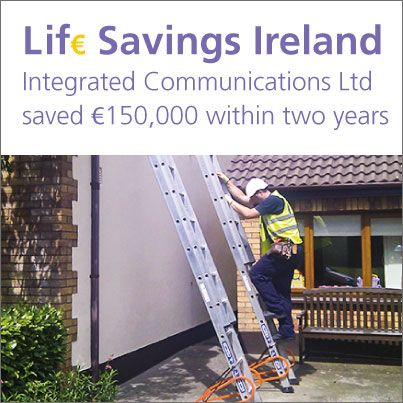 IOSH has commended Integrated Communications Ltd (ICL), a telecommunications company in Carlow, for saving approximately €150,000 with an accident reduction scheme. The initiative was showcased at the launch earlier this year of the Lif€ Savings Ireland campaign, which demonstrates that good health and safety management saves money as well as lives.  http://www.iosh.co.uk/Membership/Our-membership-network/Our-Branches/Ireland-branch/Branch-news/Carlow-business-praised.aspx