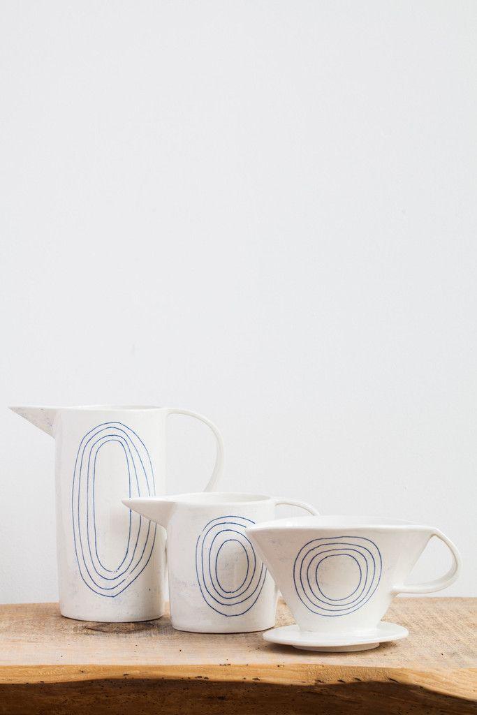 Paula Greif Ceramic Coffee Dripper Set