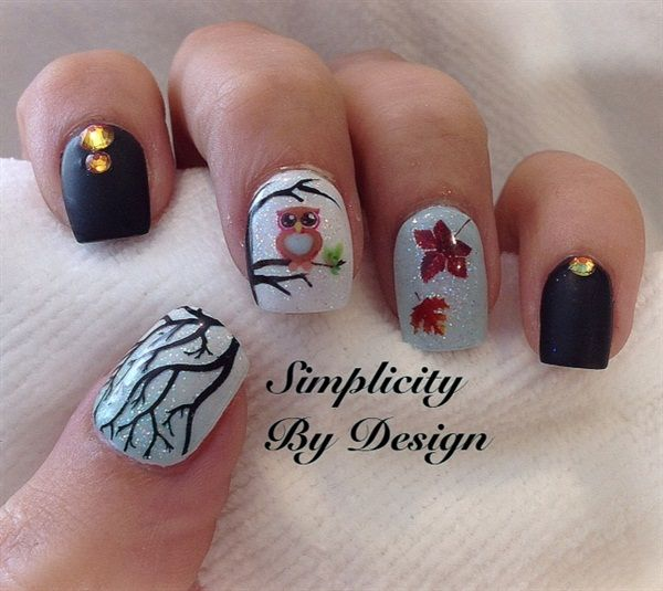 Day 252: Back to School Nail Art - - NAILS Magazine