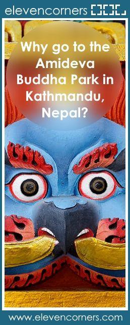 Why go to the Amideva Buddha Park in Kathmandu, Nepal? #elevencorners #kathmandu #travelblog #travelblogger travel