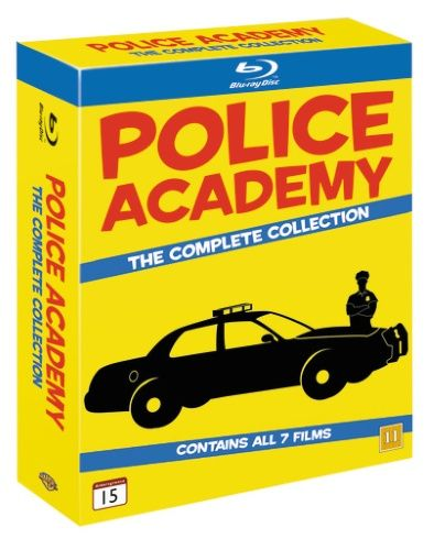 Police Academy Collection (7 disc) (Blu-ray) € 19.95