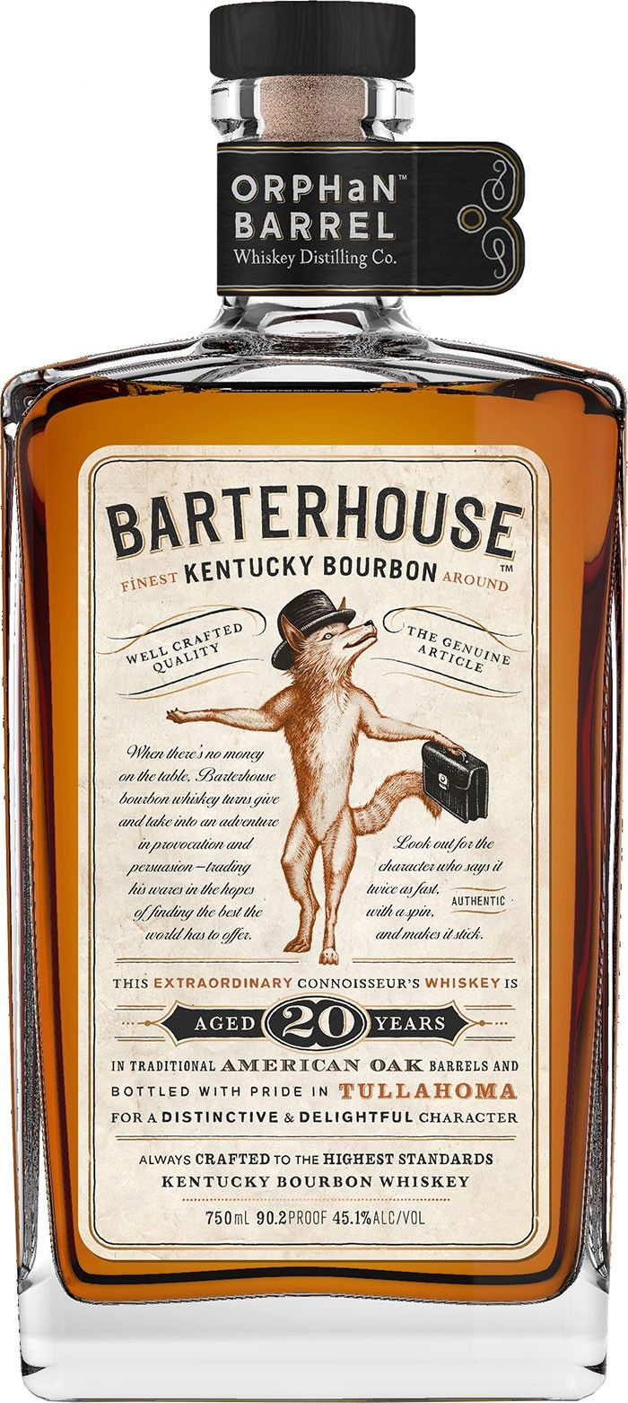 Barterhouse Kentucky Bourbon #Whiskey. Aged for 20 years, this #bourbon was sourced from the fabled Stitzel-Weller Distillery. | @Caskers