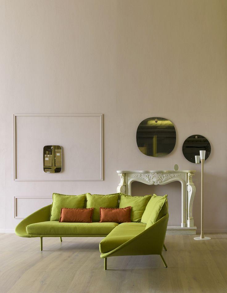 Lem sofa in a neo-classical setting. #miniforms #sofa #homedecor #interiordesign