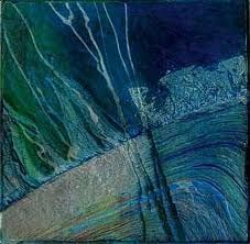 collagraph by Brenda Hartill