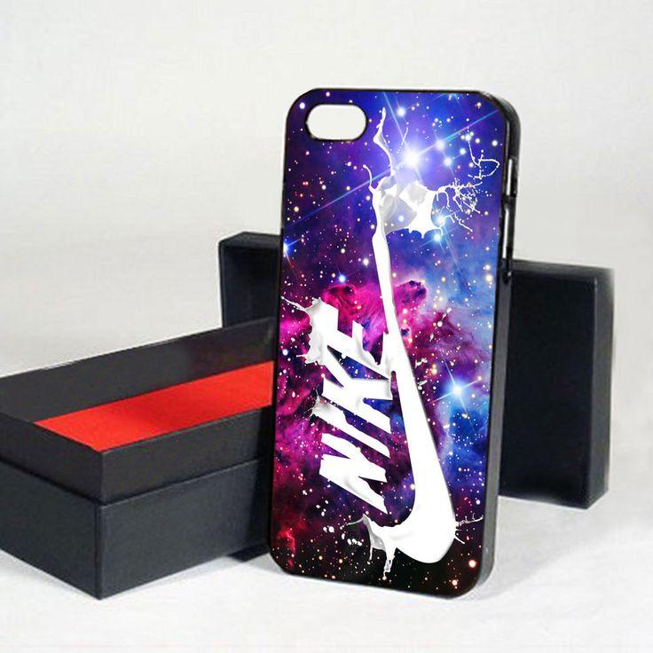 New Nike Swoosh Nebula iPhone Case iPhone 4 5 6 6s Plus Cases Plastic/Rubber  #UnbrandedGeneric