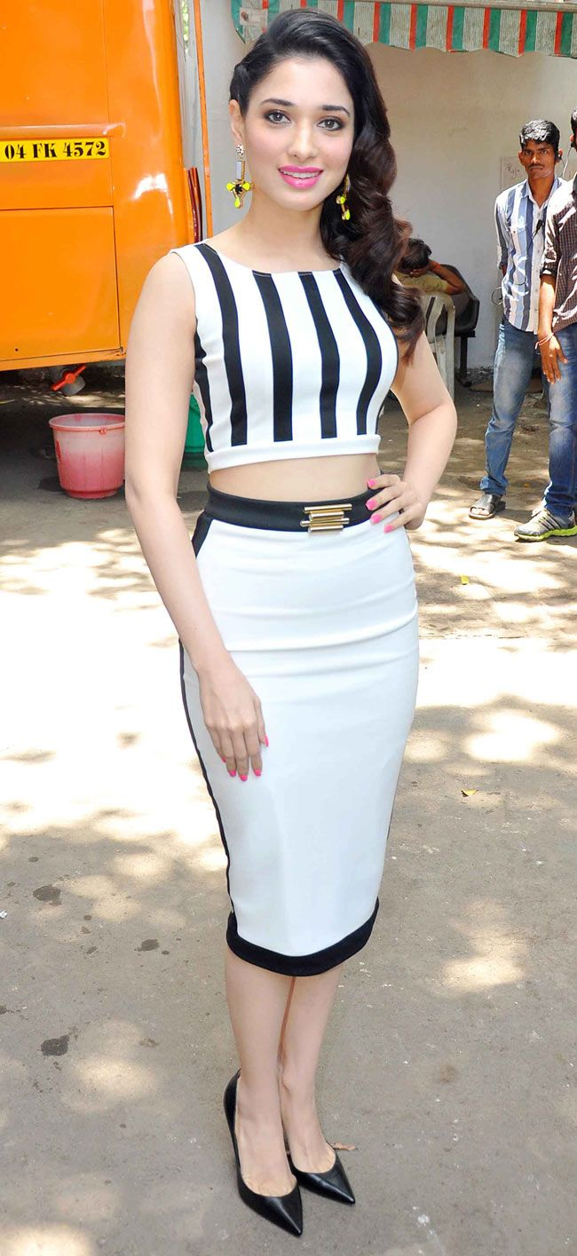 Love this outfit! -- Tamannaah Bhatia promoting 'Humshakals'