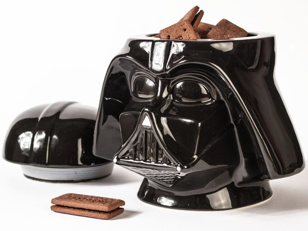 Becky and I did have a conversation about having a cookie jar. I never said it won't be a Darth Vader Cookie Jar! Lol