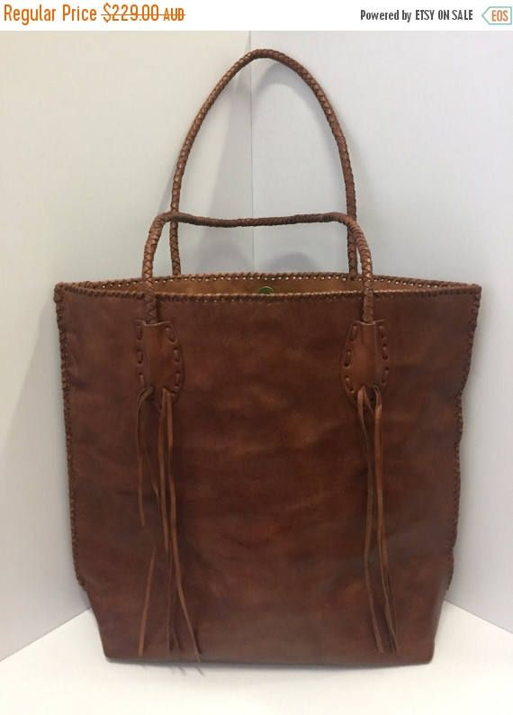 FLASH SALE The WILDERNESS Leather Bag / Womens Leather Bag /