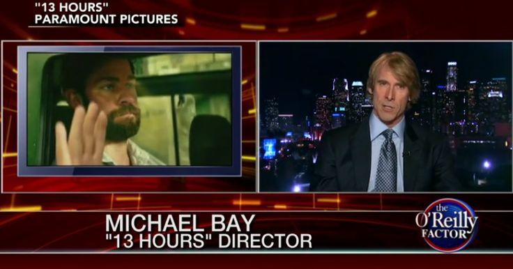 Michael Bay Talks Benghazi Attack, '13 Hours' Film... JAN 23 2016