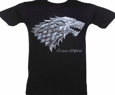 Mens Black Stark House Logo Game Of Thrones As one of the great houses of Westeros in Game Of Thrones, House Stark is also one of the oldest and ruler over a land called The North. This tee features the Stark Sigil, the grey Direwolf, as any fa http://www.comparestoreprices.co.uk/t-shirts/mens-black-stark-house-logo-game-of-thrones.asp