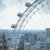 The London Eye... great view of the city...