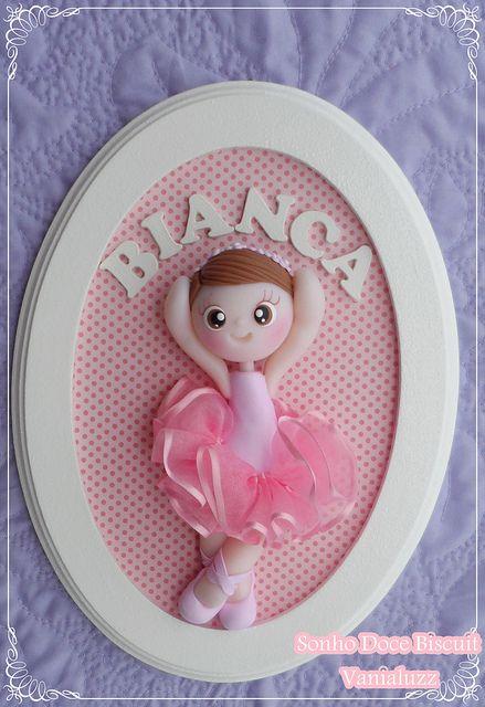 Porta Maternidade bailarina | Flickr - Photo Sharing!