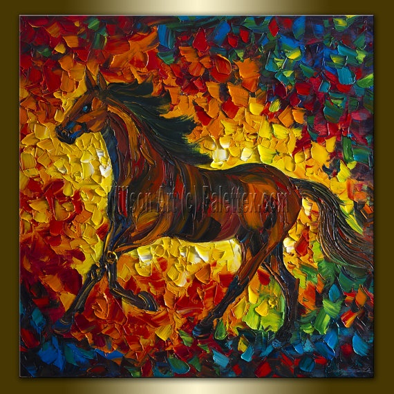 32 best images about horse impressionist on pinterest for Animal oil paintings