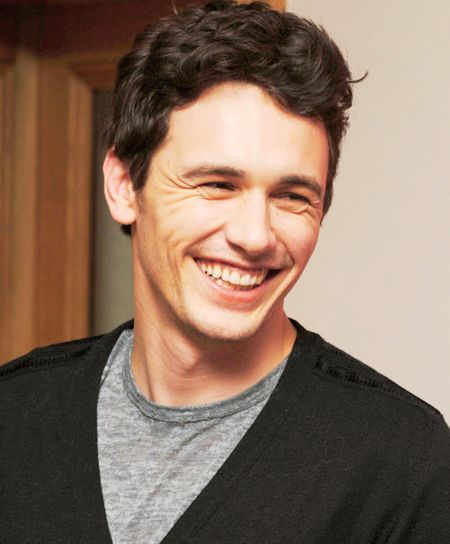 I was hiding under your porch because I love you, James Franco.