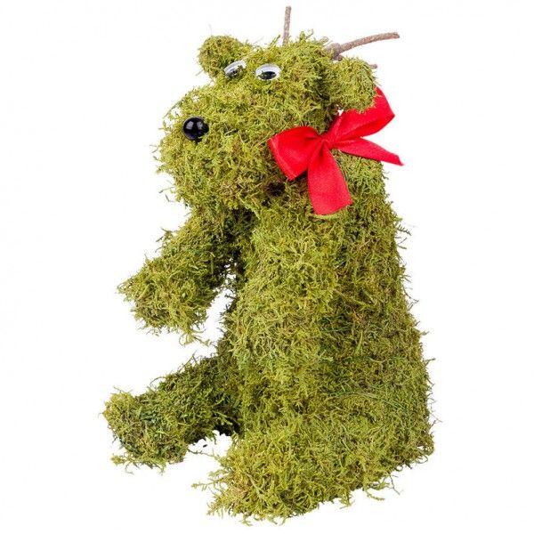Wonderful Niedlicher Mooselch Von Pflanzen Kölle. Die Vielseitig Zu Dekorierende  Elchfigur Aus Echtem Moos überzeugt Great Pictures