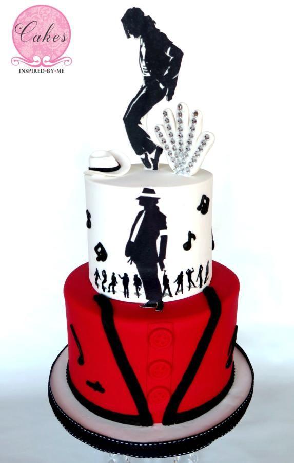 Michael Jackson Thriller - Cake by Aneesa