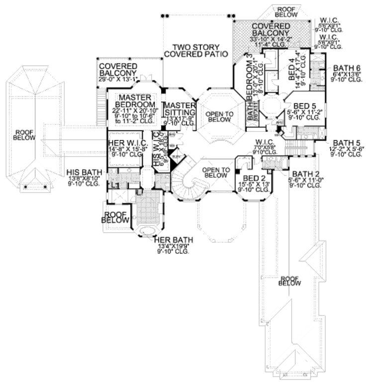 Web Photo Gallery  best House Blueprints images on Pinterest Dream house plans House floor plans and Architecture