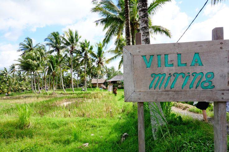 One of the new villa around Sari Organic