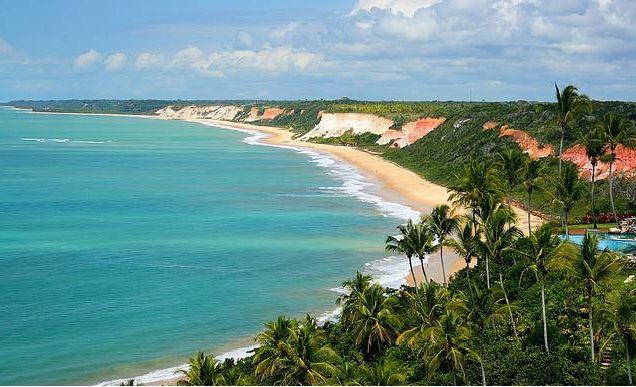 Praia de Pitinga- Arraial d' Ajuda - Bahia