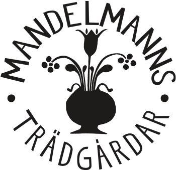 Mandelmanns logo - harlig organism tradgard med fik. Kolla att det är oppet forst.