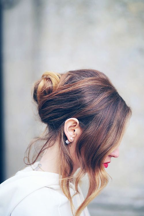 : Hair Obsession, Hairstyles Inspiration, Hair Jealousy, Chiara Ferragni, Romantic Hairdos, Hair Style, Bridal Beautiful, Hair Colour, Hair Inspiration