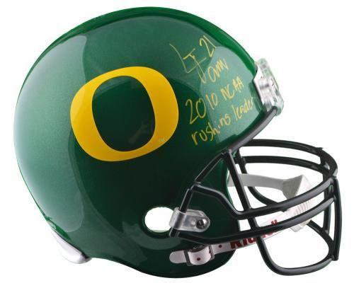 Lamichael James Autographed Oregon Ducks Replica Helmet with 2012 Rushing Leader Inscription - PSA/DNA - Sports Memorabilia