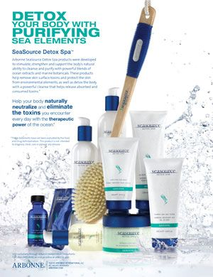 Arbonne SeaSource Detox Spa set  is FABULOUS!  Pamper yourself or pamper a friend!! This makes a great gift!  www.arbonne.com ID 1282628