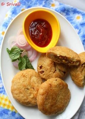 Khasta Kachori / Moong Dal Kachori - Step by Step Recipe ~ Indian Cooking Challenge!   Spice your Life