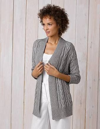 42c2695a9fbf Image result for free cable knit cardigan patterns