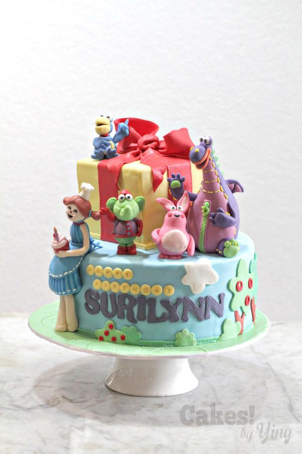 Dibo and Friends Cake - Cake by Cakes! by Ying