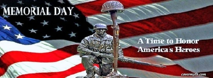 memorial day fb banners