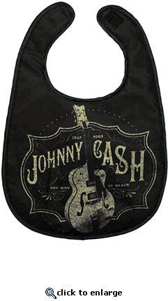 johnny cash bib