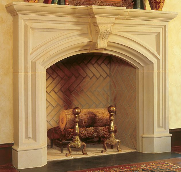 Fremont Cast Stone Fireplace Mantel. Kaminsims Aus SteinFeuerstellen ...
