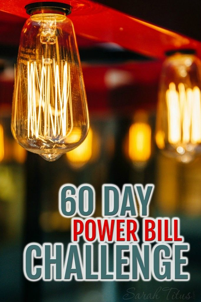 My goal is to help you get your power bill down by 35%. I think you can do it and I'm willing to prove it! Join me in this special one-time 60 Day Power Bill Challenge.