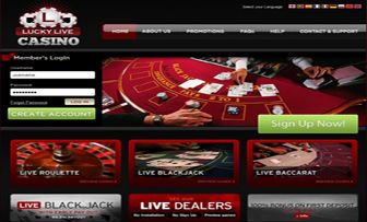 When we visited the site of Lucky Live Casino in order to write its online casino review we were met by simple but self-confident and crystal clear design. Lucky Live has a user-interface which never surprises nor drives to any confusion for a newly re ...