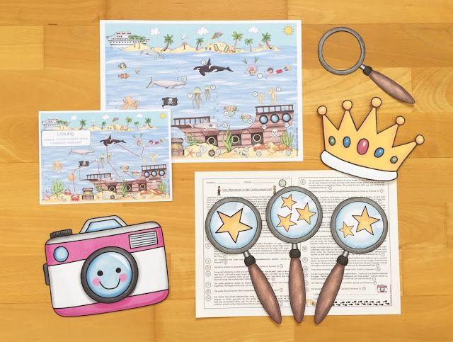 Materialwiese: eine neue Lesespurgeschichte für die Grundschule