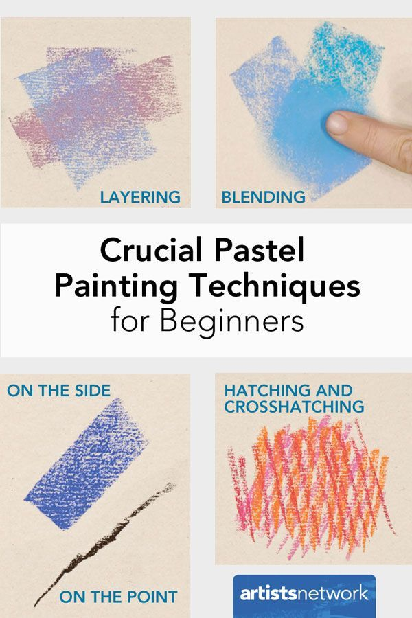 Crucial Pastel Painting Techniques for Beginners | Liz Haywood-Sullivan - Artist's Network