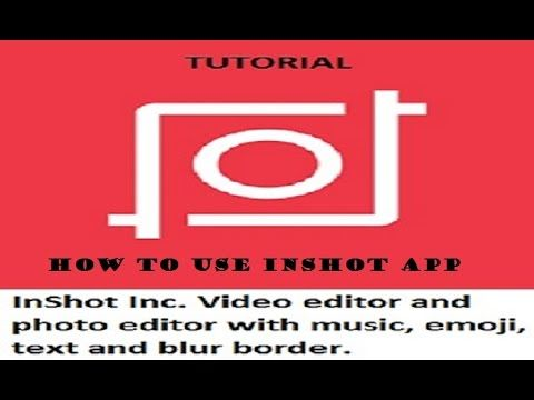 InShot App for Video Editing वीडियो एडिटिंग ऍप । Android