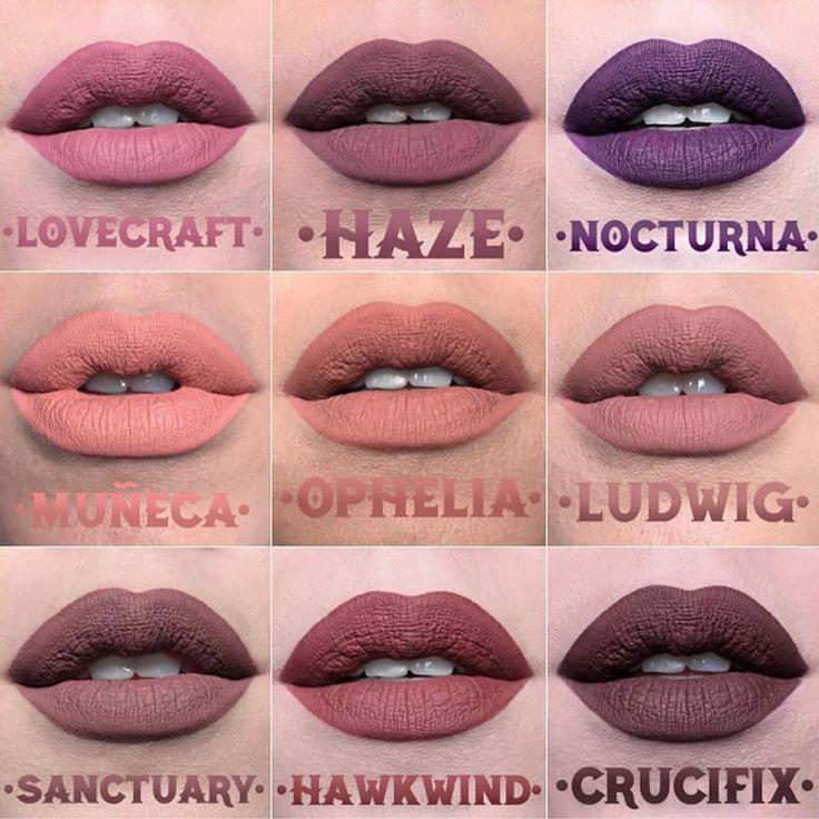 Kat Von D lança novas cores de batons líquidos » Pausa para Feminices
