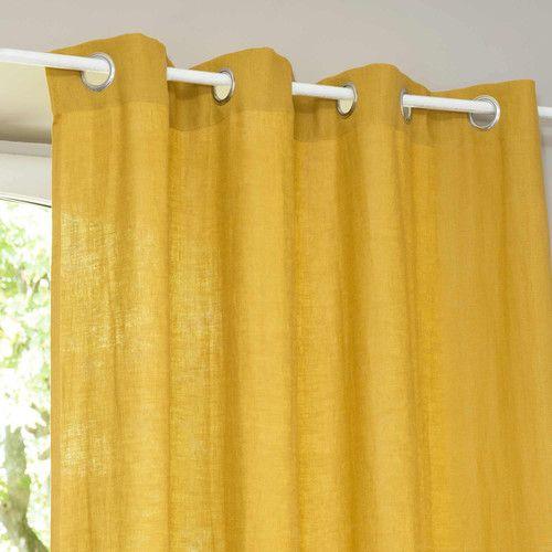 Les 25 meilleures id es concernant rideaux maison du monde sur pinterest ma - Rideau jaune moutarde ...