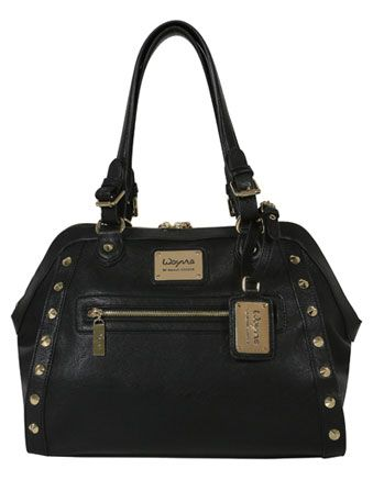 Wayne by Wayne Cooper - 'Adriana' Tote Bag in Black WH-2041