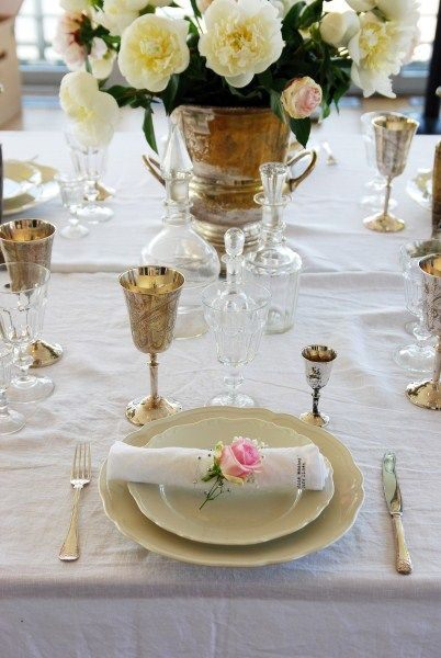 Pink Rose Entertaining Table Settings And Food Ideas