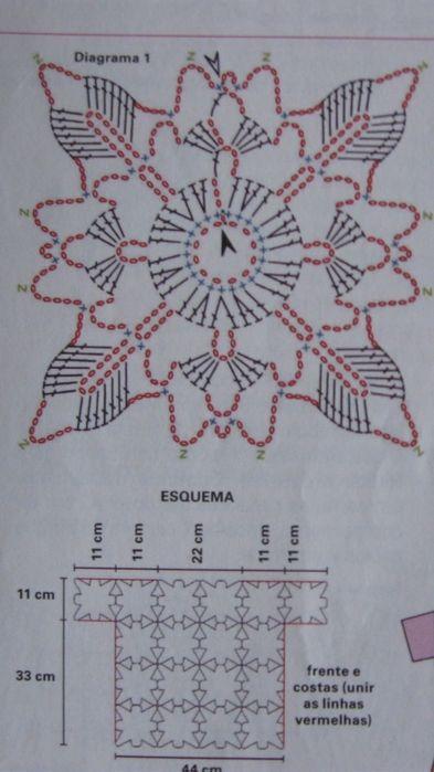 Crochet motif.