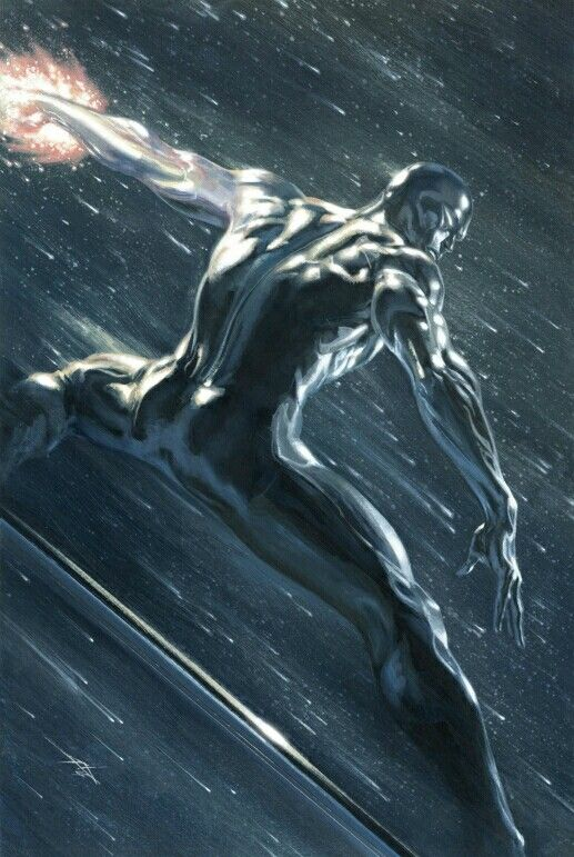 Silver Surfer by Gabrielle Dell'otto